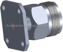N male 4 hole Field Replaceable Flange Connectors