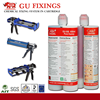 epoxy dual component gun barrel for adhesive to fix mortar adhesive sealant