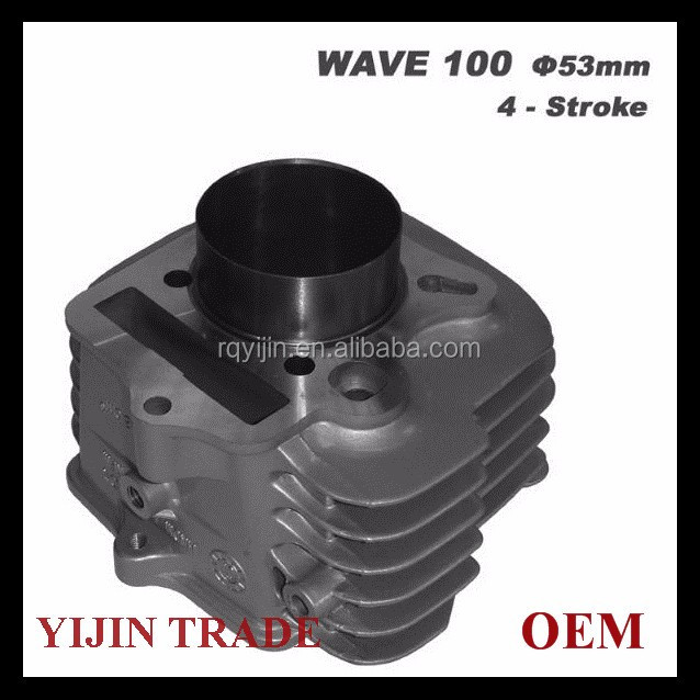 good quality motorcycle engine parts cylinder for WAVE100