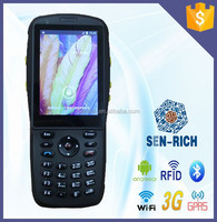 Android OS Handheld PDA with WIFI,3G,Camera,Bluetooth,RFID,1D or 2D