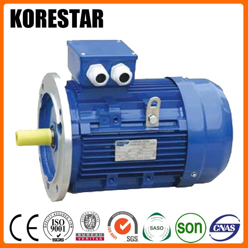 Korestar MS90L-6 1.1KW 1.5HP Three Phase ac electric motor 1kw