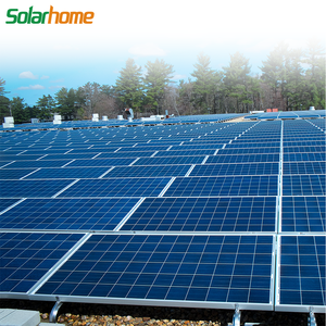 Grid tied 25kw 25 kw 25kwp portable solar power system with 5BB solar panels
