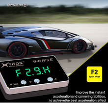 car electronic throttle controller with LED display computer