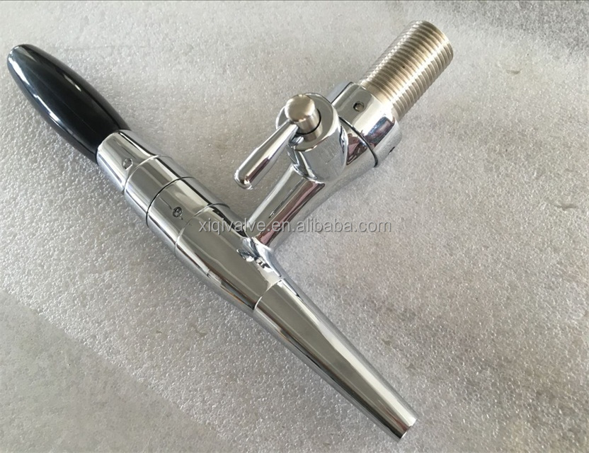 Silver Nitrogen Coffee tap coffee faucet and beer tap beer faucet stout beer tap stout beer faucet