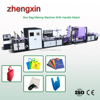 good quality New design eco non-woven handle loop bag non woven bag making machine price