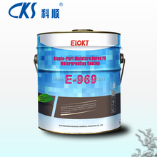 Rubberized bitumen waterproof coating roofing materials