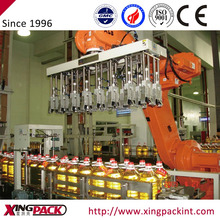 Full-Automatic Oil Bottle Carton Packer/Packing Machine