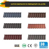 jinhu brand metal roof tile spanish red clay roof tiles shingle with 5 red pot