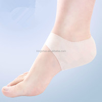 Heel Protector Silicon Gel Socks,silicone gel heel pad, silicone gel heel cushion
