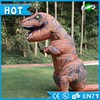 Excellent high quality cheap price Halloween costumes walking inflatable costume dinosaur