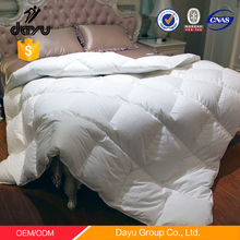 2016 Best selling Comforter inner super soft microfiber quilt polyester quilt feather duck down duvet for hotel home hospital