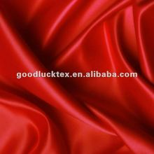 cheap price 100% Polyester colorful no-stretch Satin fabrics textile export to south American market
