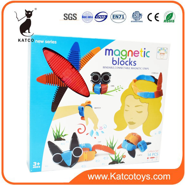 Hot selling Plastic Magnetic Building Blocks Educational Toy For Kids