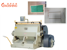 YT-1100 paper board creasing and die cutting machine for box making