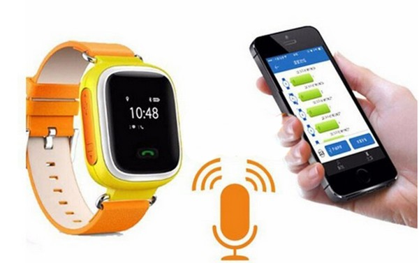 Alarm for falling off (sensor) Kids Android Bluetooth Smart Watch SOS Call Location Fin