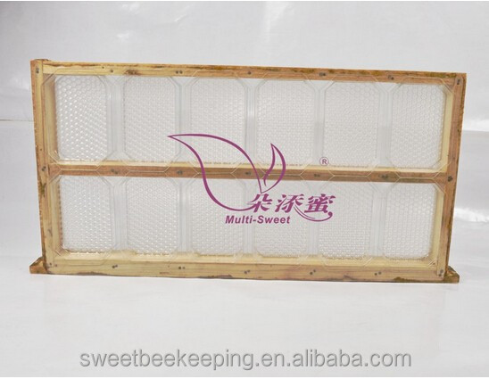 plastic ecological comb honey box/comb honey cassette