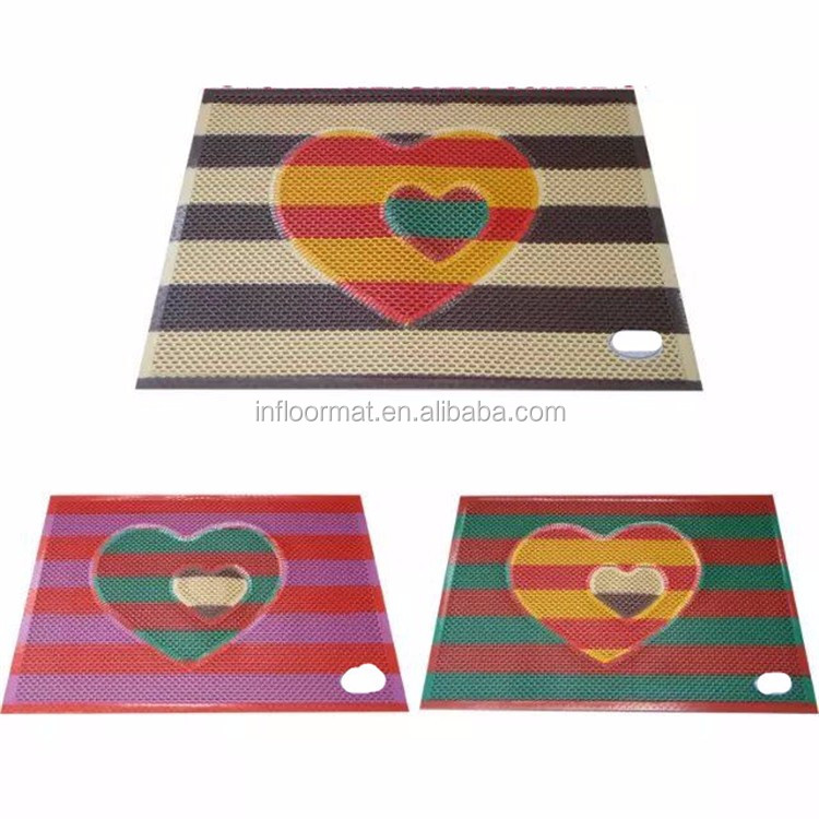 Wholesale Color Changing Funny Protection Safety PVC Bath Mat