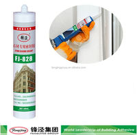 Quick dry 280g grey acid cure silicone sealant China sale