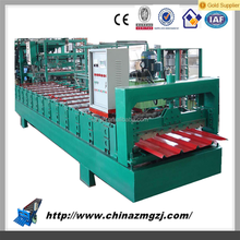 corrugated roof sheet roll forming machine steel structure metal roll forming machine steel cold roll former machinery