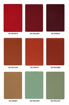 High quality PU coated Microfiber litchi leather 0.5mm~2.0mm for sofa, furniture, chair, decor and etc