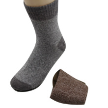 GSM-973 wholesale old-fashion men socks,custom brown cotton socks,double cylinder men socks