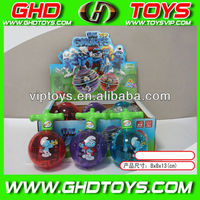 wholesale cartoon blue fairy flashing top toys