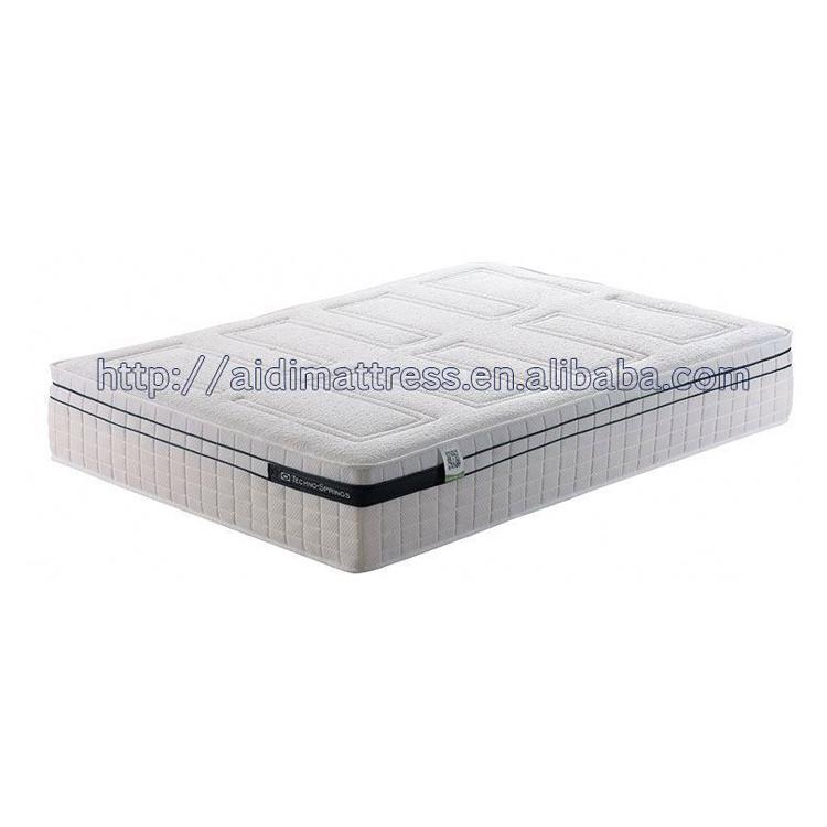 Elegance 3D Material High Density Foam Queen Latex Pocket Spring Mattress - Jozy Mattress   Jozy.net