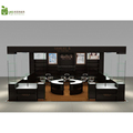 Wooden jewelry shop interior design and display cabinet and showcase for jewelry shop