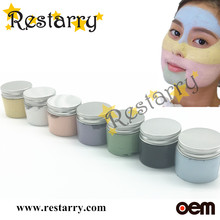 Restarry minerals dead sea facial mud mask, colorful mud mask , New Hot masks, skin whitening, wrinkle remove