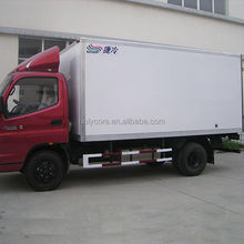 used small cooling refrigeration unit for cargo van trucks made of composite material holypan