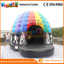Crazy Disco Dome Commercial Bouncy Castles , Inflatable Music Jumping Castle