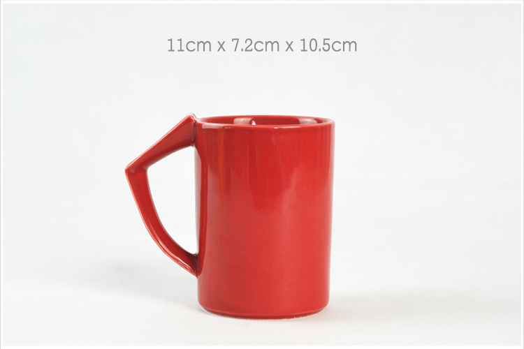 Cheap Ceramic Mug with Different Colors, Porcelain Mug Factory Accept Mug Printing