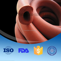 Multifunction silicone hollow foam rubber tube/pipe/hose/tubing/sleeving
