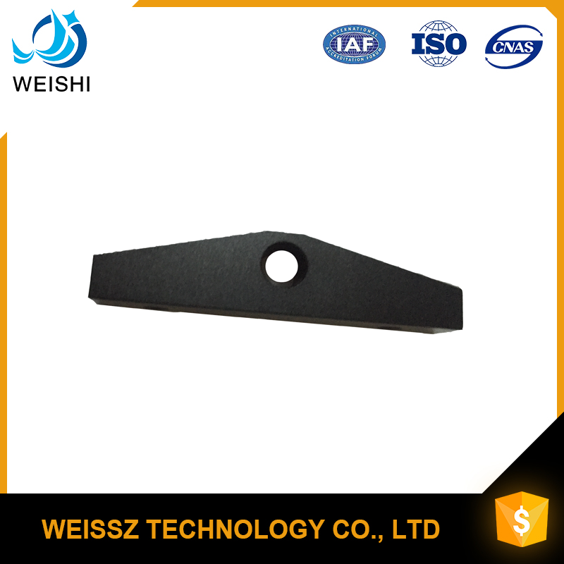 Aluminum Metal fabrication service cnc machined black anodized aluminum parts