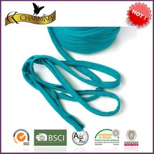 blue color T shirt yarn hand dyed hand knitting crochet yarn for knitting bag