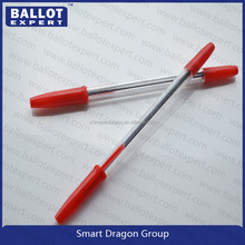Wholesale eco-friendly hotel use removable roller ball pen
