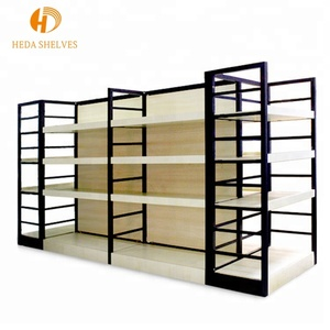 OEM service modern shoe essential oil display wood rack for supermarket