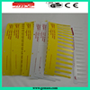 38mm green spiral plastic pvc comb binding rings for paper
