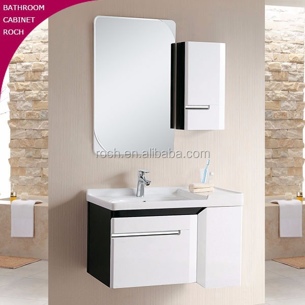 ROCH 2007 Top Wood Bathroom Cabinet Drop in Sink Cabinet