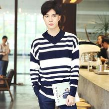 zm52412a christmas sweater wholesaler alibaba men striped v neck sweater