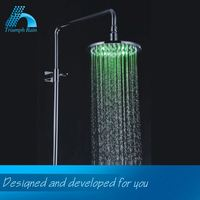5-Year Quality Guarantee Comfortable Design Water Saving Led Top Shower Head