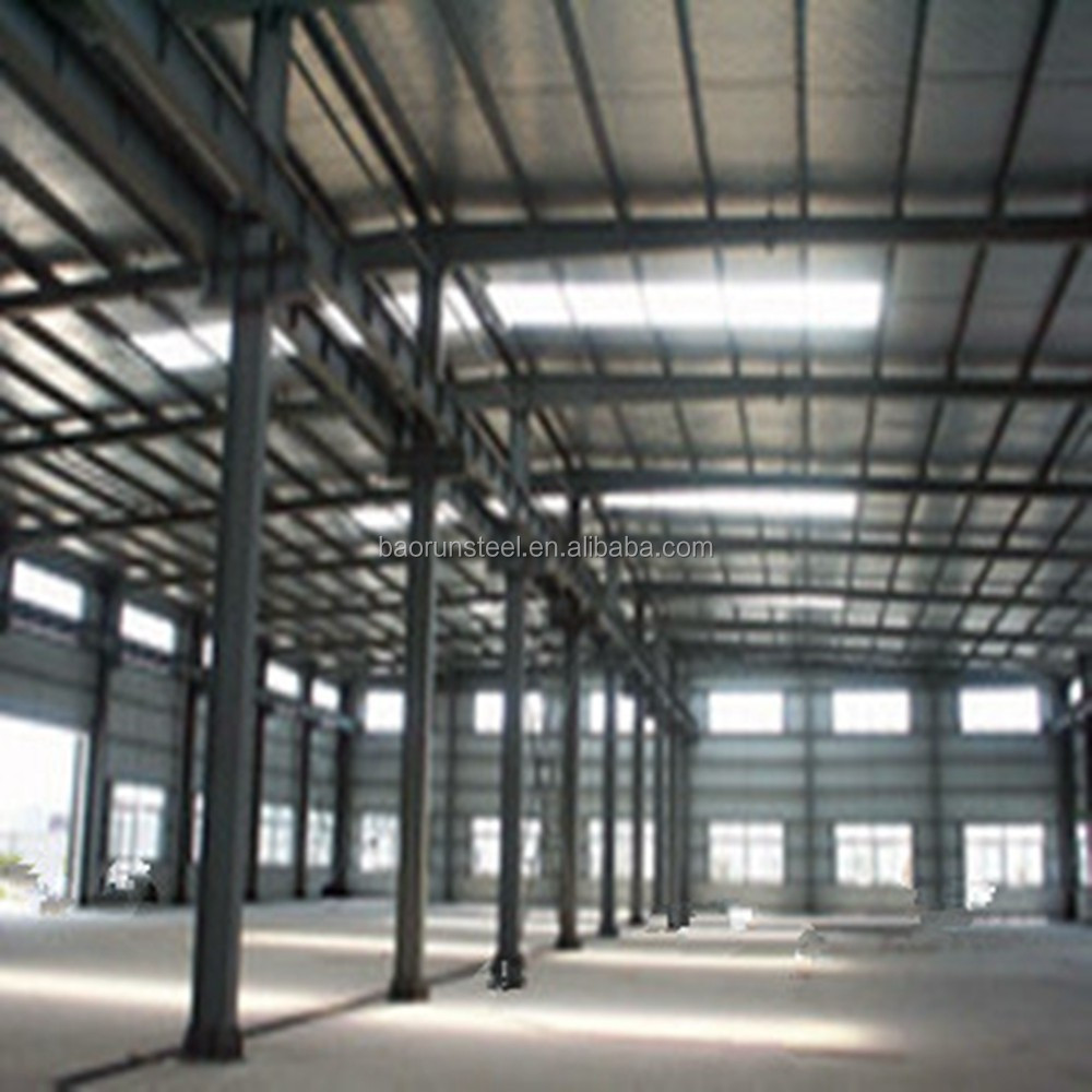 Steel space frame storage steel structure home/house/villa