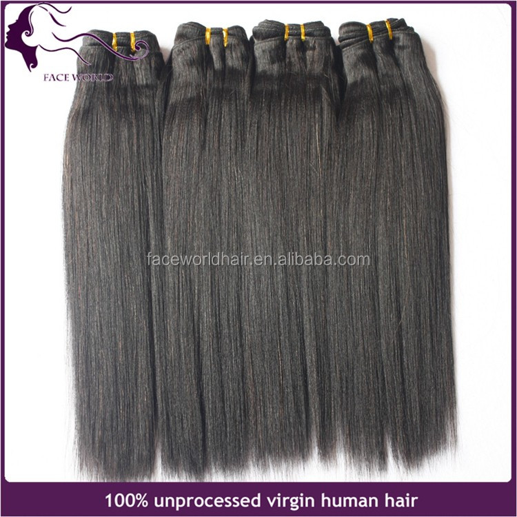 Hot Selling Full Cuticle Double Weft Premium Yaki Human Hair Curly Weave