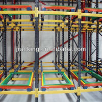 Steel structure warehouse drawings,Shelf steel shelving wire shelves quality push back racking