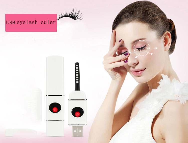 2016 Promotional Fashion makeup tools Heated electric Eyelash perm Curler