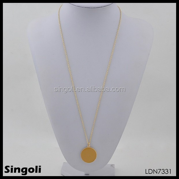 It's back! Hottest sale Lucy enamel disc necklace wholesale in USA