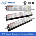 IP65 Double Fluorescent Enclosure Electronic Ballast