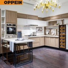 White Color Modern Design Cheap Modular MDF Kitchen Cabinet Direct From China