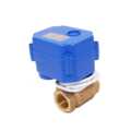 motorized valve electrical valve 1/2 inch thread for water leakage detector