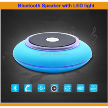 2017 New Design Mini Bluetooth Speaker with LED light FM Radio